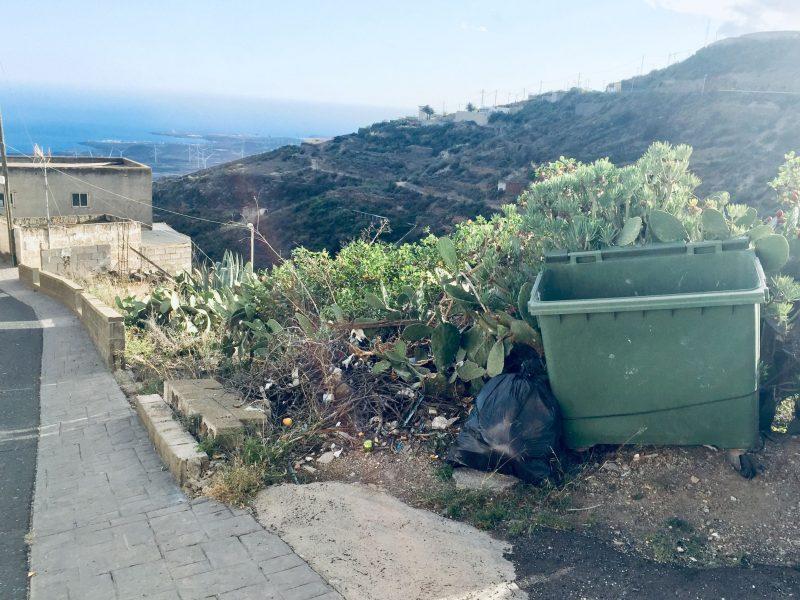 Plastik und Müllkippen